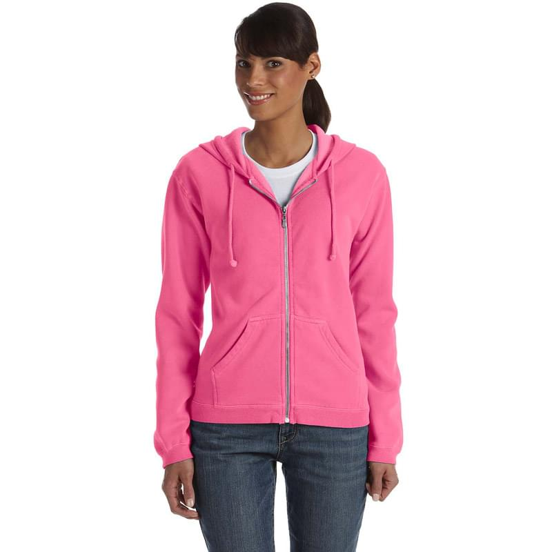 Ladies' Full-Zip Hooded Sweatshirt