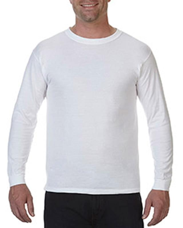 5.5 oz. Ringspun Garment-Dyed Long-Sleeve T-Shirt