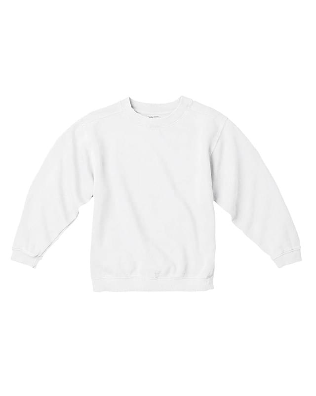Youth 10 oz. Garment-Dyed Crew Sweatshirt