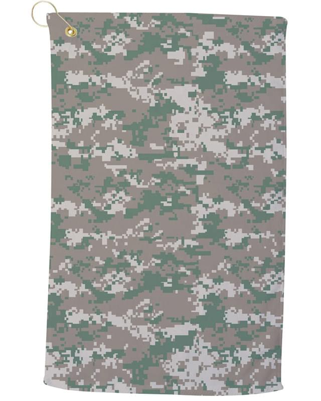 Large Camo Golf Towel