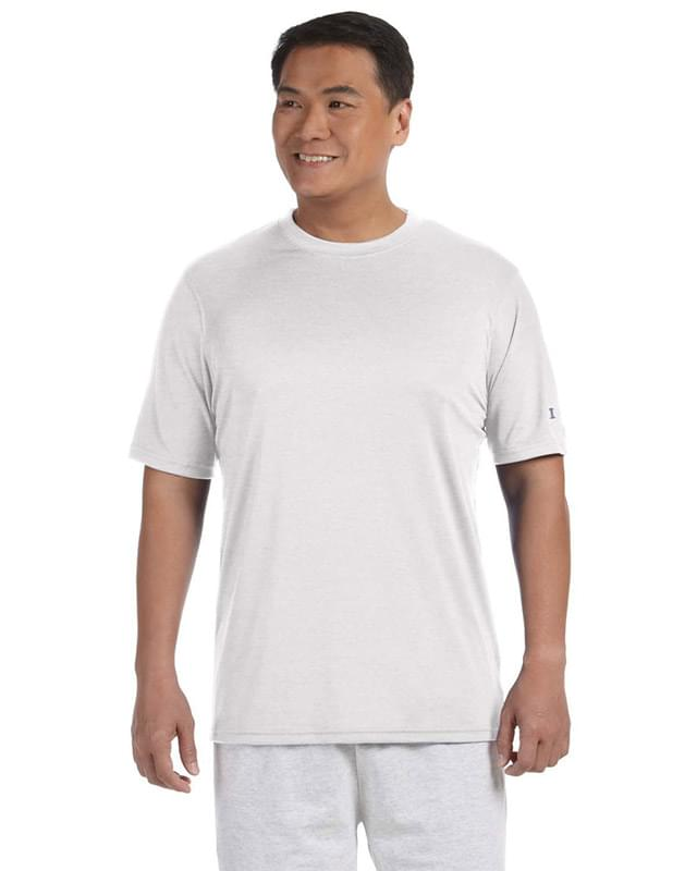 Adult 4.1 oz. Double Dry Interlock T-Shirt