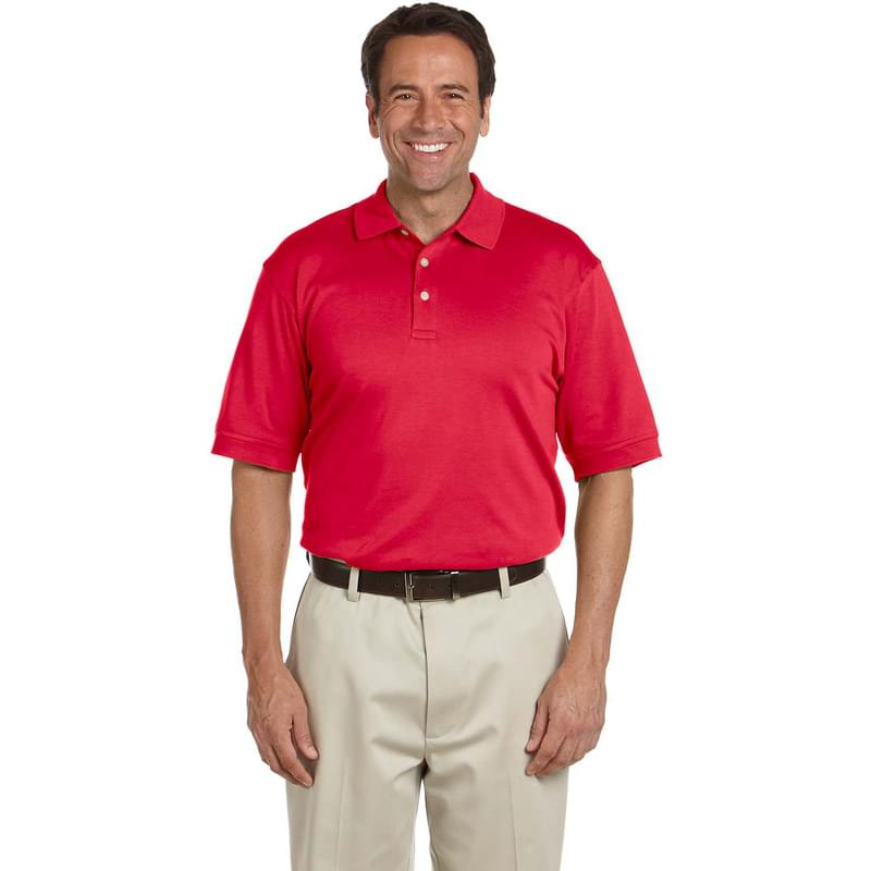 Men's Solid Perfect Pima InterlockPolo