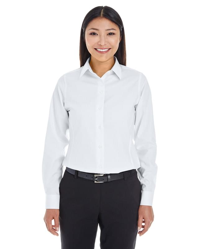 Ladies' Crown Woven Collection Royal Dobby Shirt