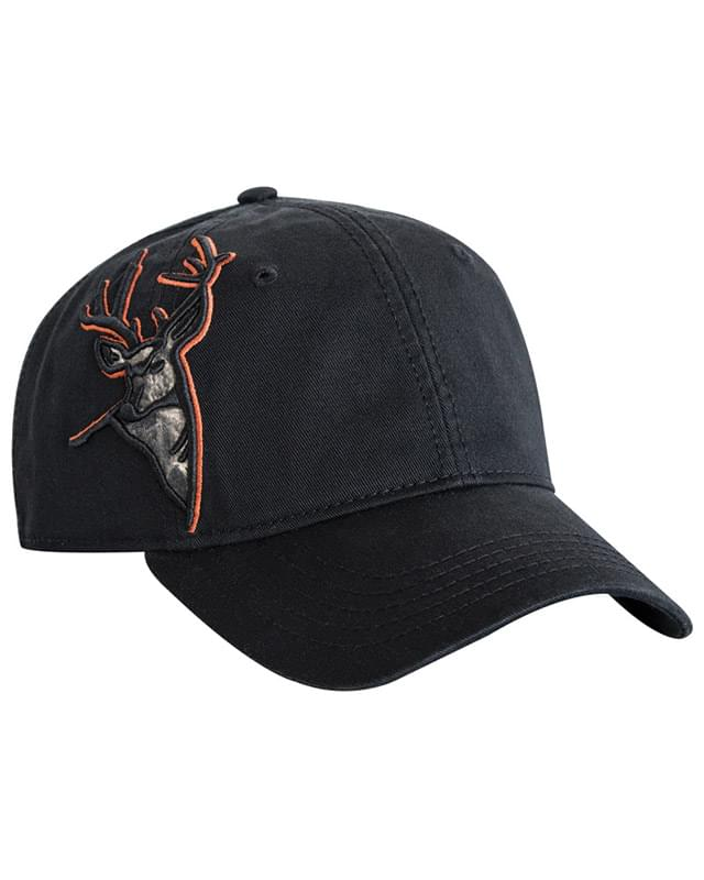 3D Applique Buck Cap