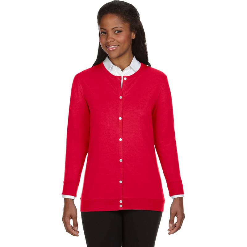 Ladies' Perfect Fit Ribbon Cardigan