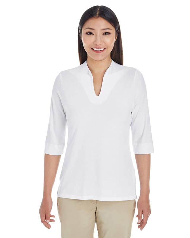 Ladies' Perfect Fit Tailored Open Neckline Top
