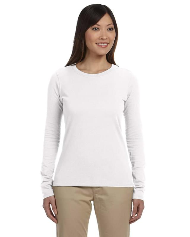 Ladies' 100% Organic Cotton Classic Long-Sleeve T-Shirt
