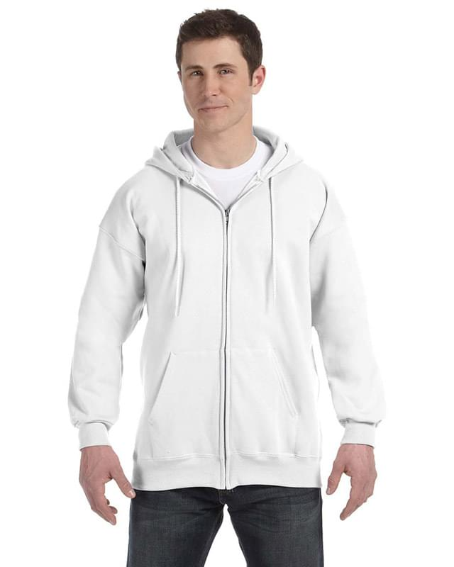 Adult Ultimate Cotton� 90/10 Full-Zip Hooded Sweatshirt