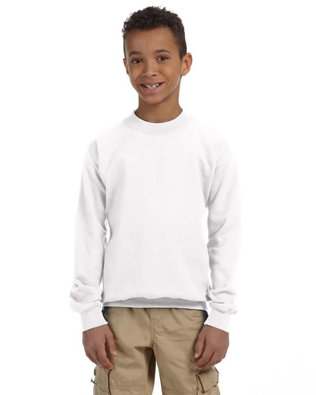 Youth Heavy Blend 8 oz., 50/50 Fleece Crew