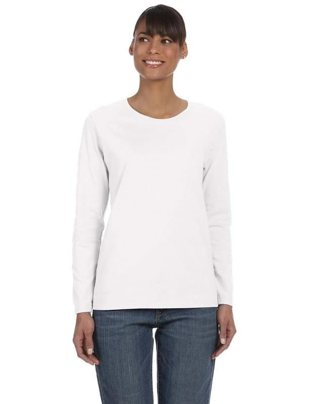 Ladies' Heavy Cotton Long-Sleeve T-Shirt
