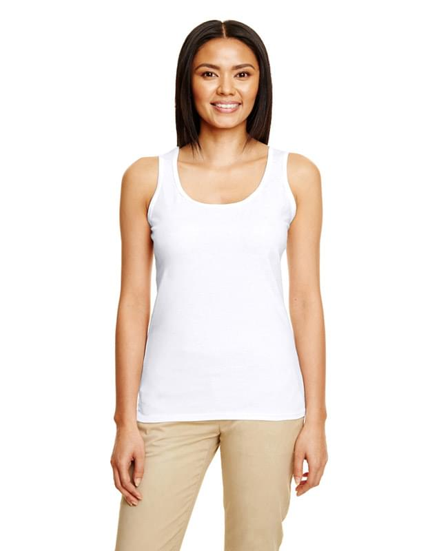Ladies' Softstyle  4.5 oz. Racerback Tank