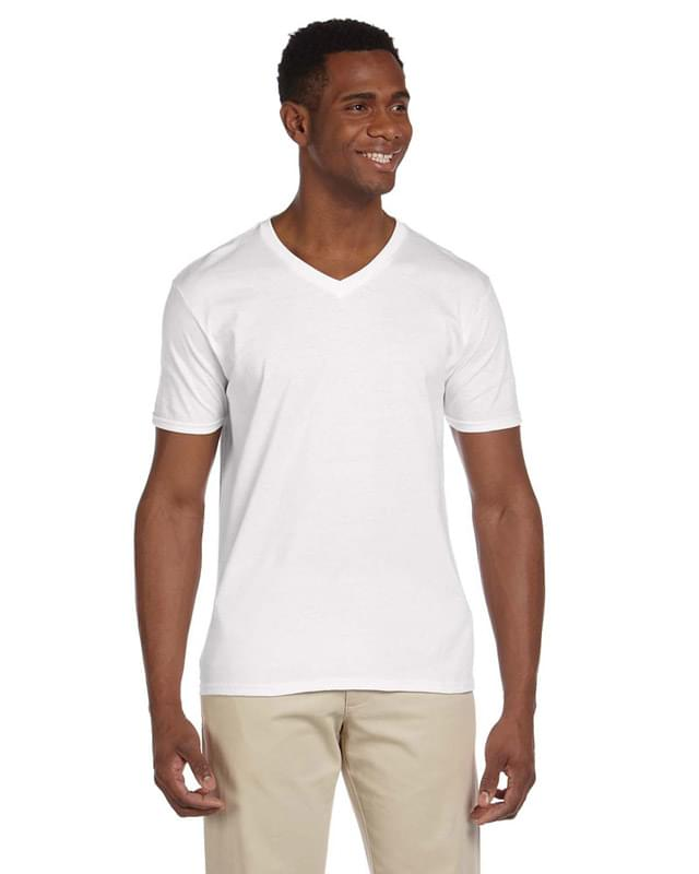 Adult Softstyle 4.5 oz. V-Neck T-Shirt