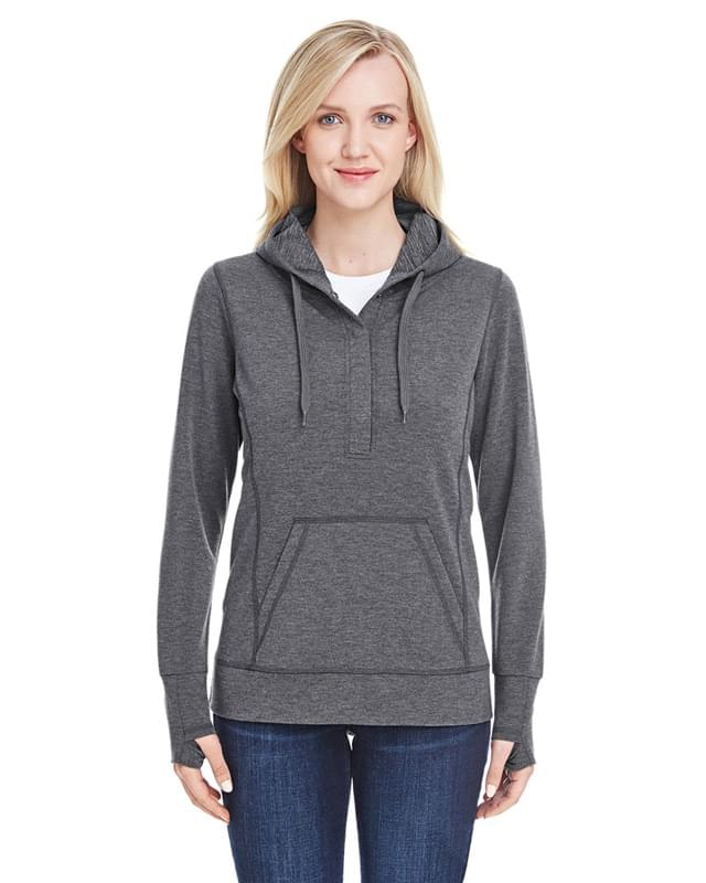 Ladies' Omega Stretch Snap-Placket Hood