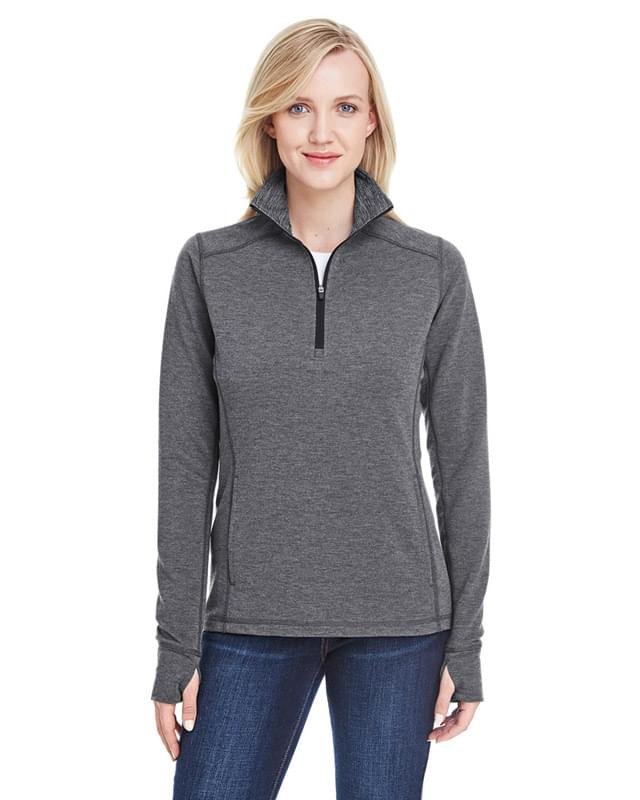 Ladies' Omega Stretch Quarter-Zip
