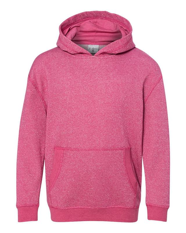 Youth Glitter French Terry Pullover Hood