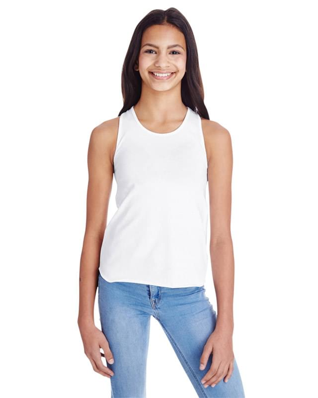 Girls' Relaxed Racerback Tank