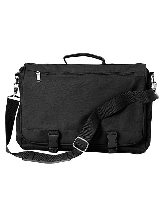 Corporate Raider Expandable Messenger Bag