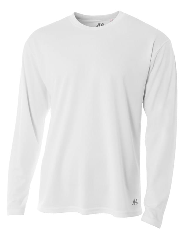 Men's Birds-Eye Mesh Long Sleeve T-Shirt