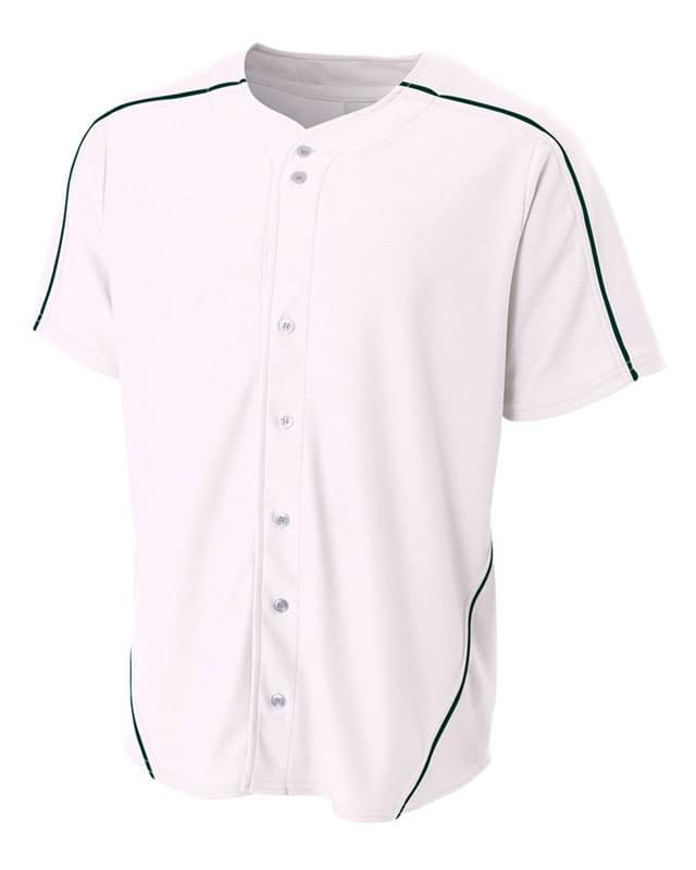 Youth Warp Knit Baseball Jersey