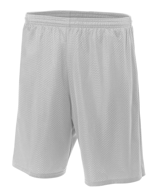 "Adult 9"" Inseam Utility Mesh Short"