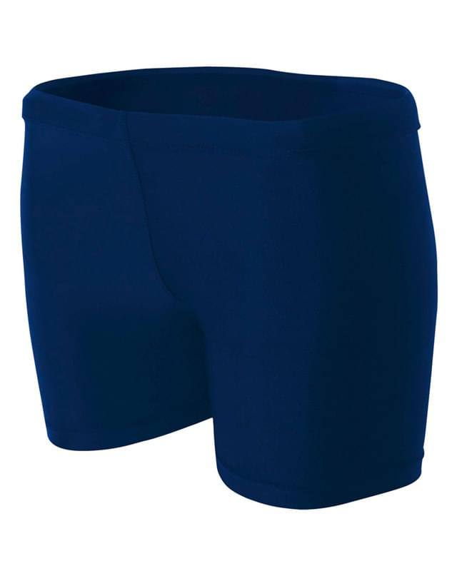 "Ladies' 4"" Inseam Compression Shorts"