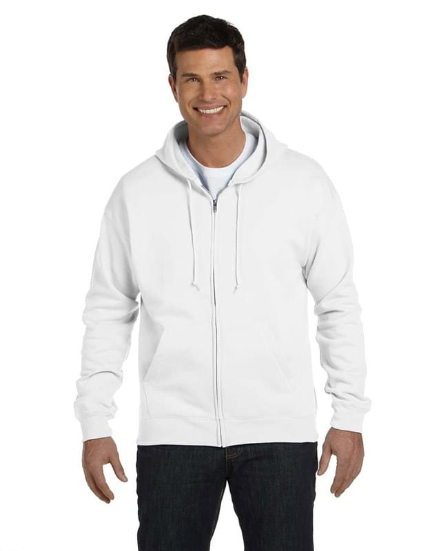 Adult EcoSmart� 50/50 Full-Zip Hooded Sweatshirt