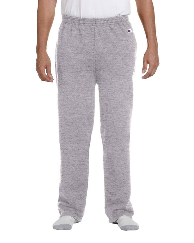 Adult 9 oz. Double Dry Eco� Open-Bottom Fleece Pant with Pockets