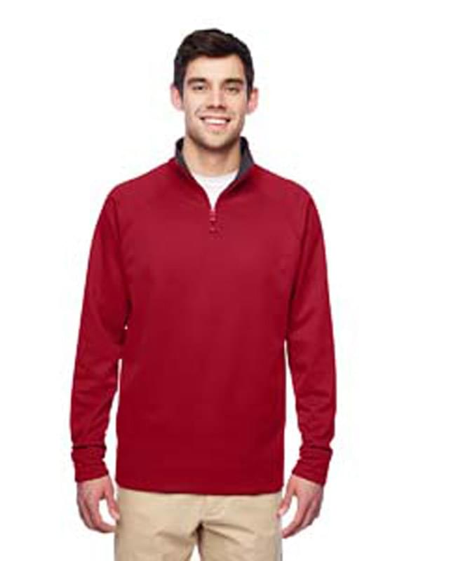 Adult 6 oz. DRI-POWER? SPORT Quarter-Zip Cadet Collar Sweatshirt