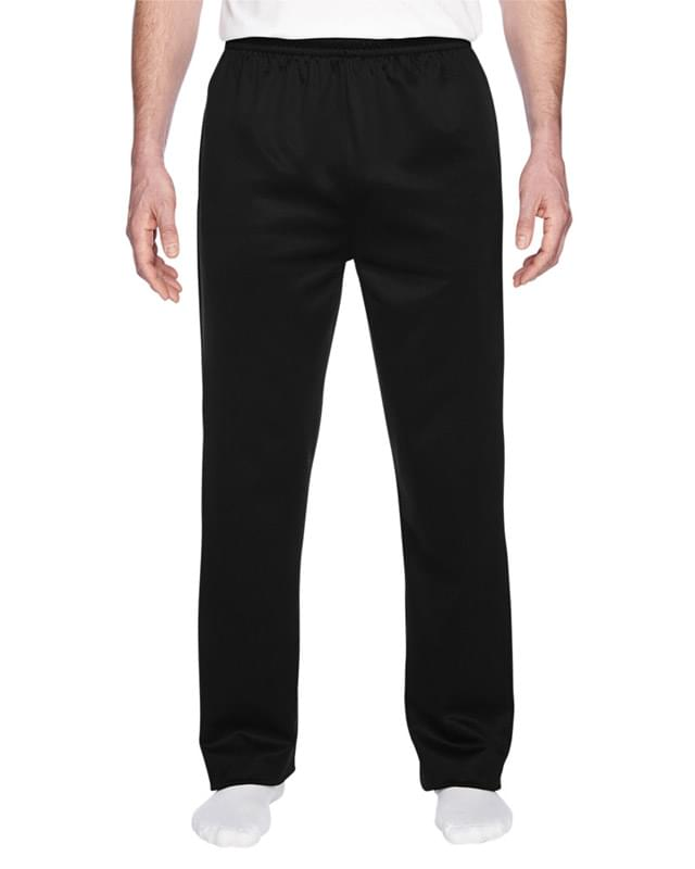 Adult 6 oz. DRI-POWER� SPORT Pocketed Open-Bottom Sweatpant