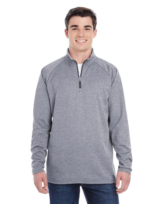 Adult Performance Fleece Quarter-Zip Jacket