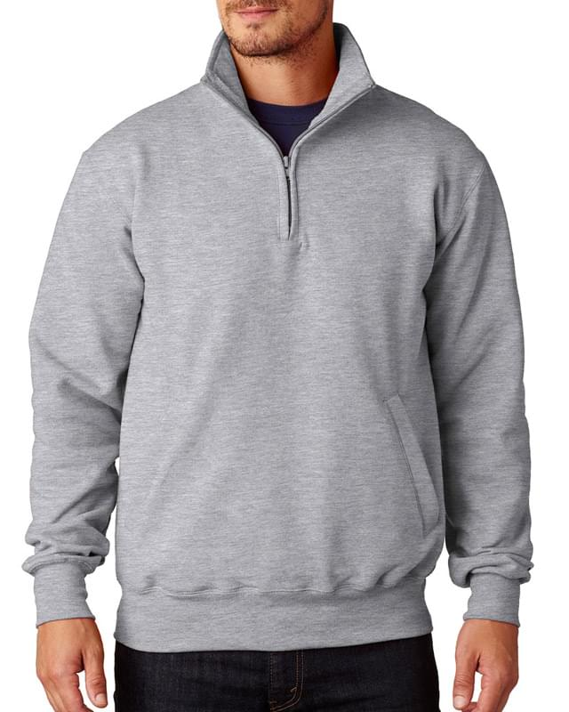 Adult 9 oz. Double Dry Eco Quarter-Zip Pullover