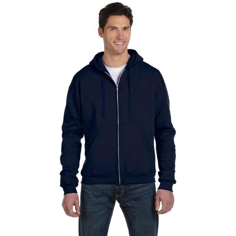 Adult 9 oz. Double Dry Eco Full-Zip Hooded Sweatshirt