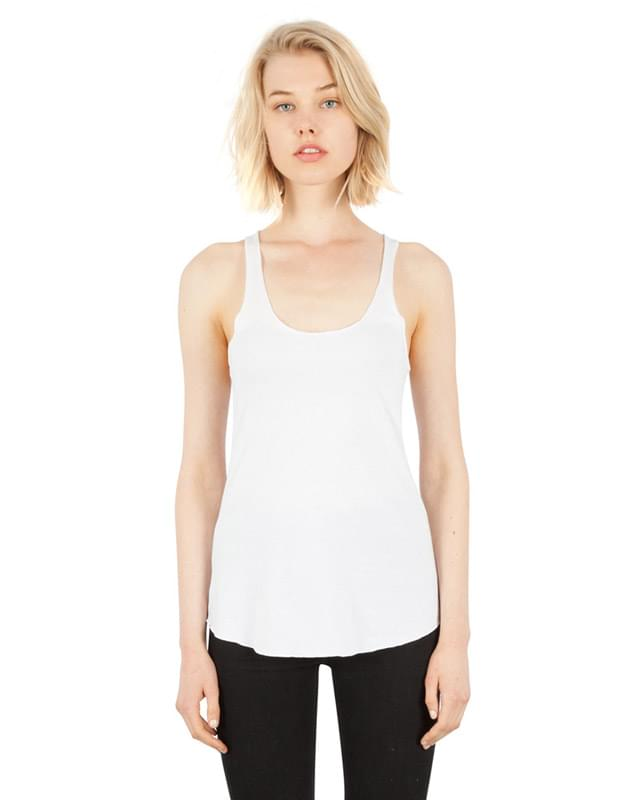 Ladies' 4.6 oz. Tri-Blend Racerback Tank Top