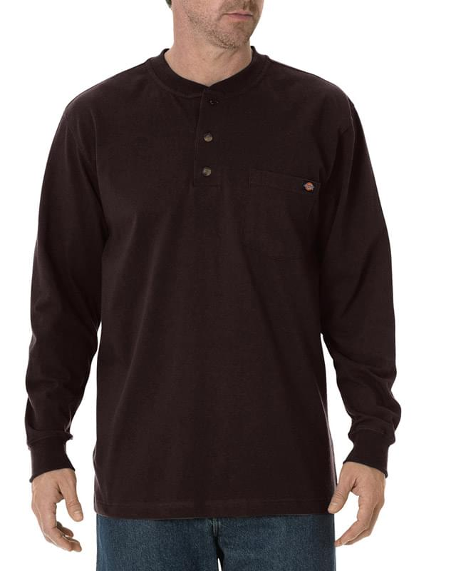 Men's Tall Long-Sleeve Heavyweight Henley