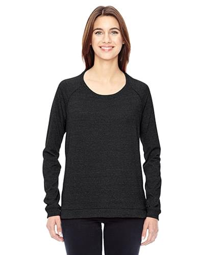Ladies' Eco-Mock Twist Locker Room Pullover