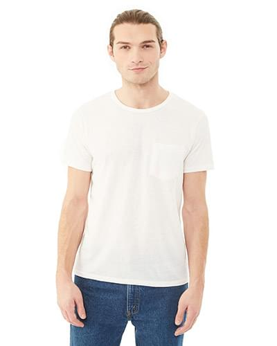 Men's Eco Jersey Triblend Pocket Crew