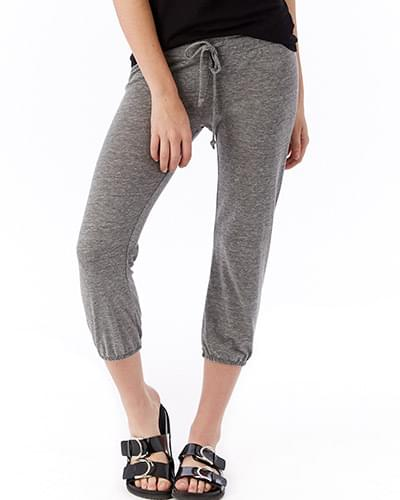 Ladies' Cropped Eco-Jersey Pant