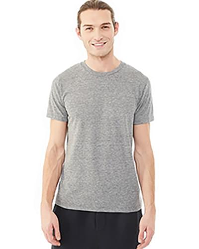 Men's Eco Jersey Triblend Drop Neck Crew T-Shirt