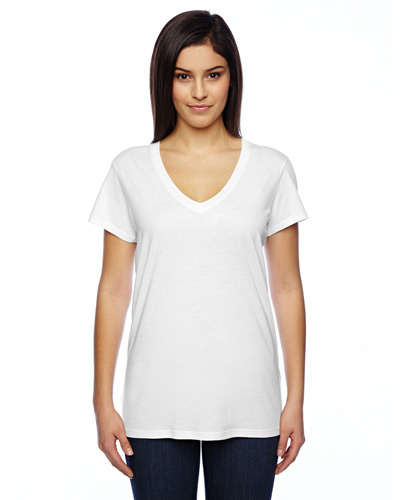 Ladies' Everyday Cotton Modal V-Neck