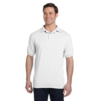 Adult 5.2 oz., 50/50 EcoSmart? Jersey Pocket Polo