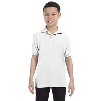 Youth 5.2 oz., 50/50 EcoSmart Jersey Knit Polo