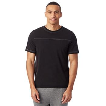 Men's Heavy Wash Football T-Shirt