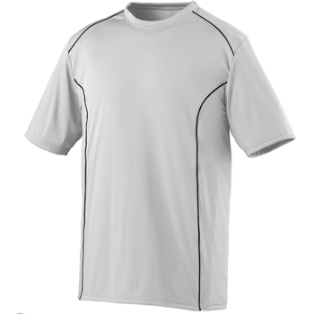 Youth Wicking Polyester Short-Sleeve T-Shirt