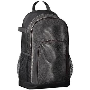 All Out Glitter Baseball Backpack