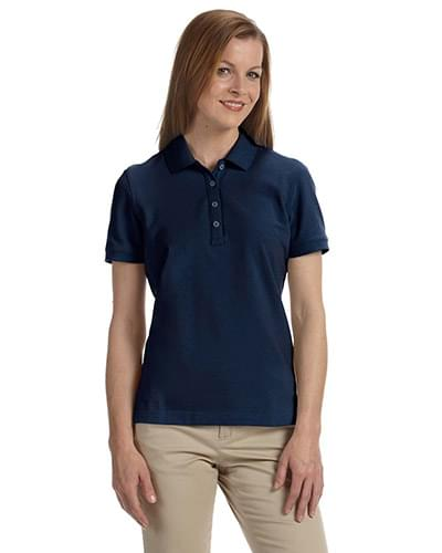Ladies' Combed Cotton Piqu Polo