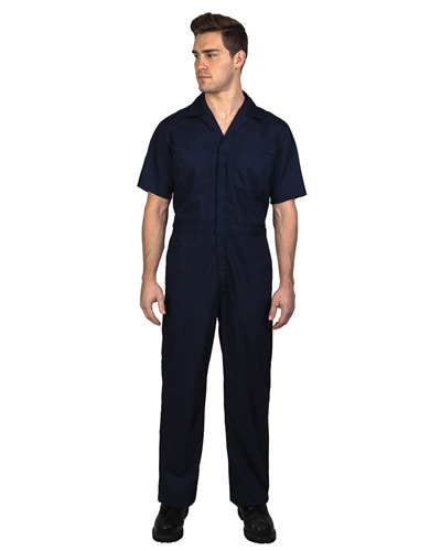 Unisex Twill Non-Insulated Short-Sleeve Coverall