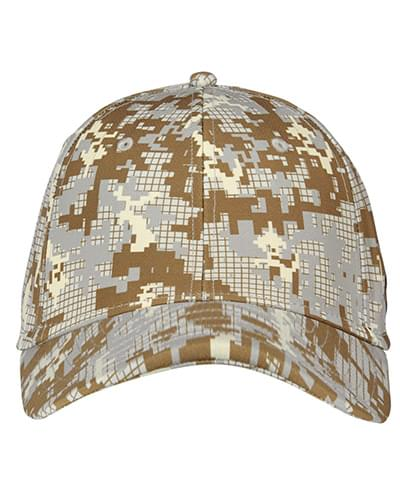 Curved Bill Cap - Digi Camou