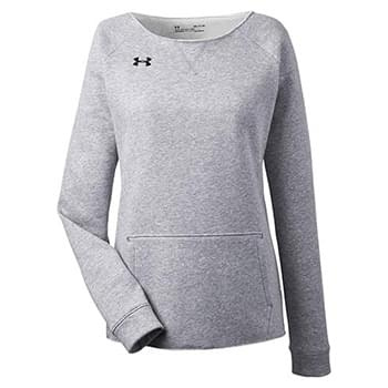 Ladies' Hustle Fleece Crewneck  Sweatshirt