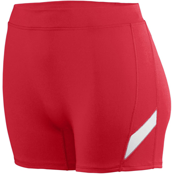 Ladies Wicking Poly/Span Short