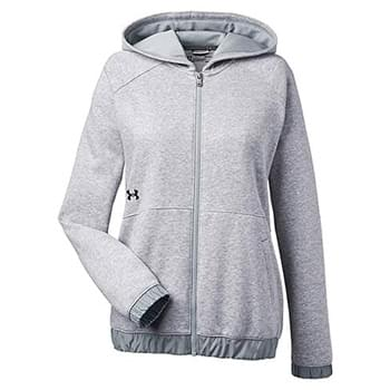 Ladies' Hustle Full-Zip Hooded Sweatshirt